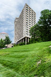 Tall building in downtown Kansas City Missouri. A Tall modern apartment / office building in downtown Kansas City Missouri Stock Image