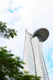 Tall building in Ho Chi Minh City Royalty Free Stock Photo