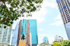 Tall building in Ho Chi Minh City Royalty Free Stock Photography