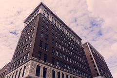 Tall building in Lansing Capital Royalty Free Stock Photo