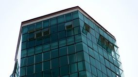 Tall buildings and roofs on the building stock photo