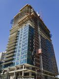 Tall building under construction Royalty Free Stock Image