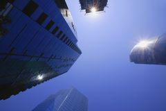 Tall Buildings Royalty Free Stock Images