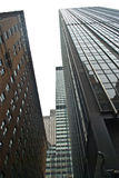 Tall buildings. Tall office buildings in NY Stock Image