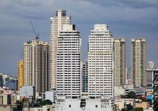 Tall buildings in Bangkok, Thailand Royalty Free Stock Photos
