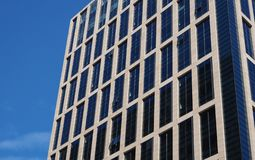Tall buildings in big cities for background royalty free stock images