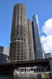 Tall buildings of Chicago, Illinois, USA Stock Photography