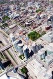 Tall Buildings Cityscape in Toronto Canada. View from above of Tall Buildings Cityscape in Toronto Canada Stock Photo