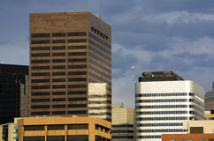 Tall Buildings in Denver Royalty Free Stock Photography
