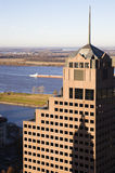 Tall buildings in downtown of Memphis Stock Image