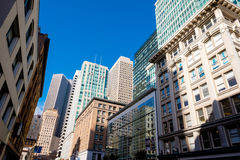 Tall Buildings in Downtown San Francisco Stock Photos