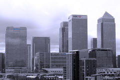 Tall buildings in London. Stock Photos