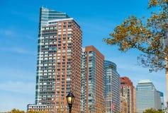 Tall buildings of Manhattan, New York City - USA Royalty Free Stock Image