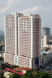 Tall buildings in Manila, Philippines Stock Photo