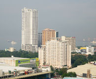 Tall buildings in Manila, Philippines Stock Image