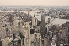 Tall buildings in New York City Royalty Free Stock Photography