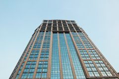 Tall business building in Thailand Royalty Free Stock Image