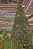 Tall christmas tree at 2016 Royalty Free Stock Photos