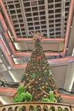 Tall christmas tree at 2016 Stock Photos