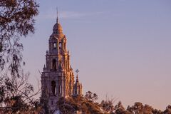 Tall church Stock Photo