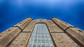 Tall church Germany. Tall church with alot of windows in Germany Royalty Free Stock Photos