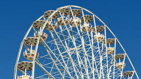 Tall Classical Fair Ferris Wheel In France stock video