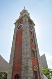 Tall clock tower Royalty Free Stock Image