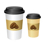 Tall Coffee Cup Royalty Free Stock Photo