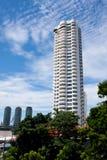 Tall condominium or apartment Stock Photos