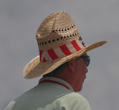 Tall Cowboy Hat at Jazzfest Royalty Free Stock Photo