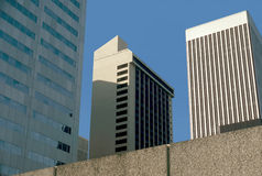 Tall downtown buildings Royalty Free Stock Photography