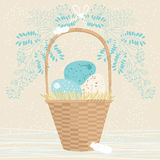 Tall Easter Basket Royalty Free Stock Photography