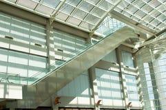 A Tall Escalator Royalty Free Stock Image