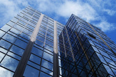 Tall Financial Office Block Stock Images