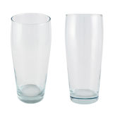 Tall glass isolated Royalty Free Stock Image