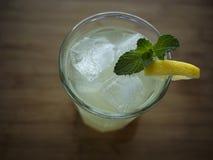 Tall Glass of Lemonade Stock Image