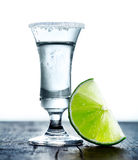 Tall glass with Margarita drink Royalty Free Stock Image