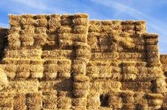 Tall Golden Haystack Stock Photos