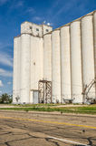 Tall Grain Elevators Royalty Free Stock Image
