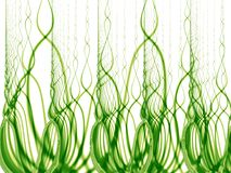 Tall Green Grass and Weeds. A digital art rendering of tall green grass and weeds texture royalty free illustration