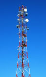 Tall GSM antenna Royalty Free Stock Photos