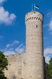 Tall Hermann - Toompea castle tower in Tallinn Stock Image