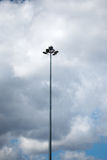 Tall lamppost Royalty Free Stock Image