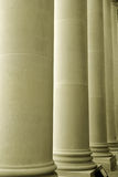Tall large pillars Royalty Free Stock Photo