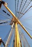 Tall mast Stock Image