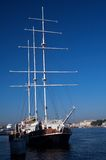 Tall masted sailing ships Royalty Free Stock Photography