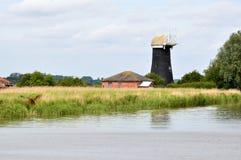Tall Mill drainage mill Stock Photos