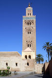 Tall minaret Royalty Free Stock Photo