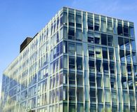 New york city office buildings glass exterior Stock Image