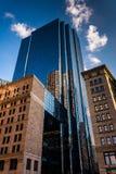 Tall, modern skyscraper in Boston, Massachusetts. Royalty Free Stock Photos